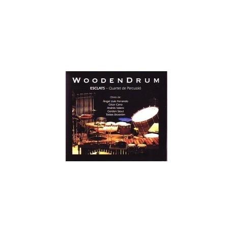 CD Wooden Drum - ESCLATS (quartet de percussió)