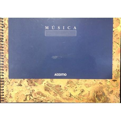 CUADERNO DE MÚSICA. ADDITIO BASIC 4