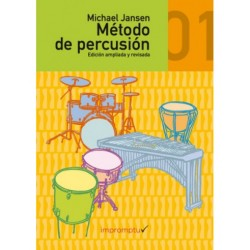 MÉTODO DE PERCUSIÓN 1º Vol. 1 (+CD) de MICHAEL JANSEN