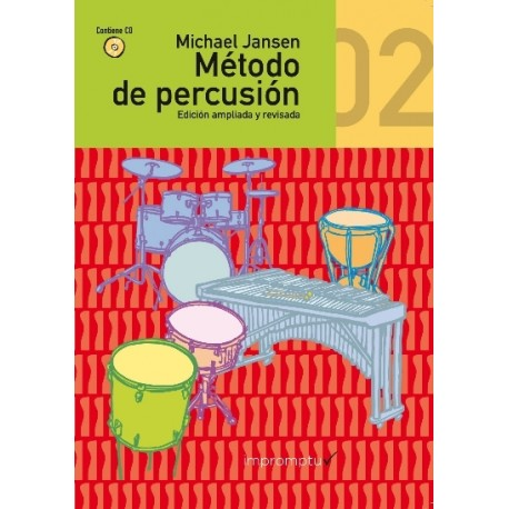 MÉTODO DE PERCUSIÓN 2º Vol. 2 (+ CD)...