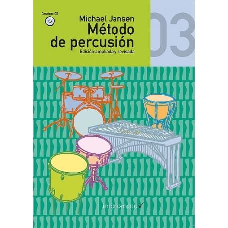 MÉTODO DE PERCUSIÓN 3º Vol. 3 (+ CD)...