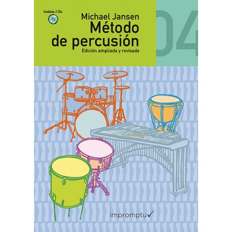 MÉTODO DE PERCUSIÓN 4º Vol. 4 (+2 CD)...