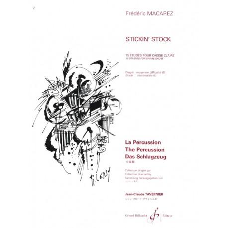 STICKIN'S STOCK - 15 ÉTUDES POUR...